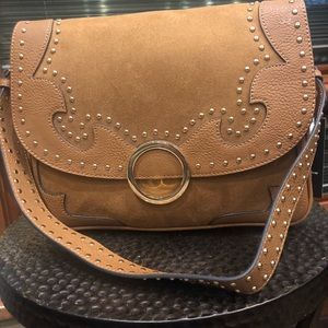 Aldo crossbody gold NWT